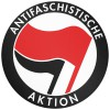 ANTIFASCHISTISCHE AKTION - Mousepad (rot/schwarz)