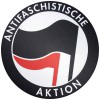 ANTIFASCHISTISCHE AKTION - Mousepad (schwarz/rot)